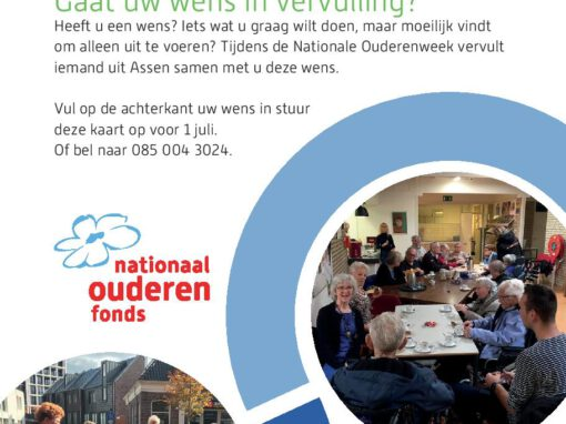 Nationale Ouderenweek – 29 sept t/m 2 okt
